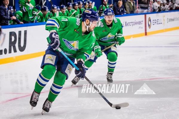 Пока «Салават Юлаев» считается одной из самых стабильных команд лиги