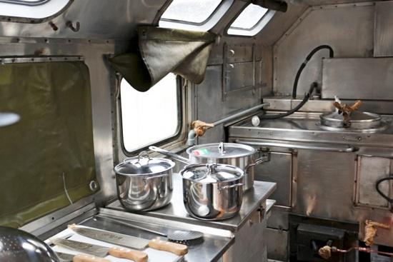 Полевые кухни созданы на шассиКАМАЗ-5350