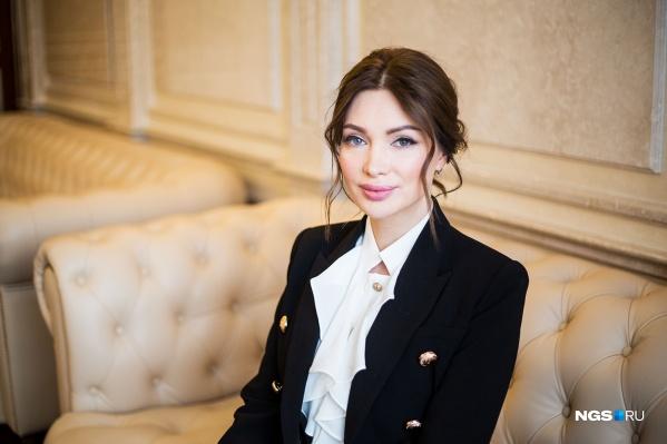 Евгения Феофилактова сегодня приехала в правительство Новосибирской области