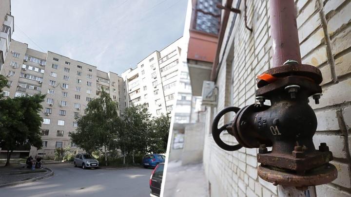 Жильцы двух многоквартирных домов в Александровке живут неделю без газа