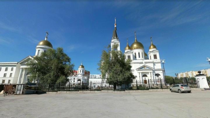 В Самаре около собора Кирилла и Мефодия хотят спилить 300 деревьев