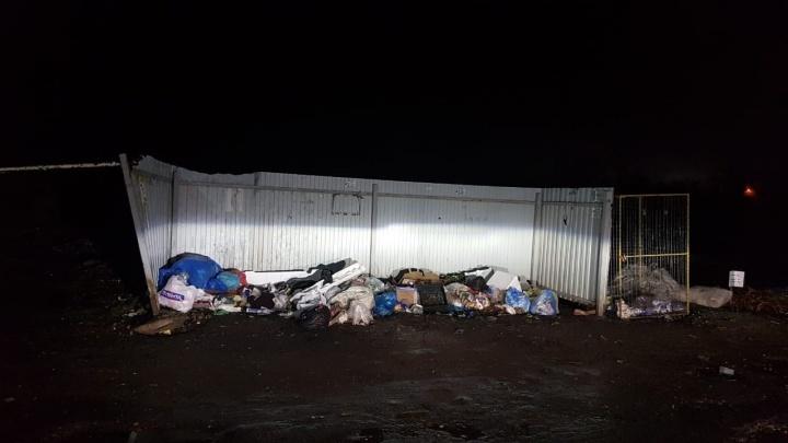 Грязная кража: в Ростове разыскивают воров, похитивших 16 мусорных баков