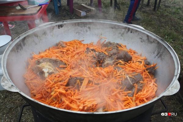 Главным блюдом фестиваля станет плов