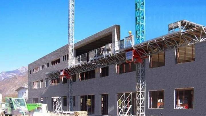 Распечатают 30-этажный дом: в Ярославле начали делать самые большие в России строительные принтеры