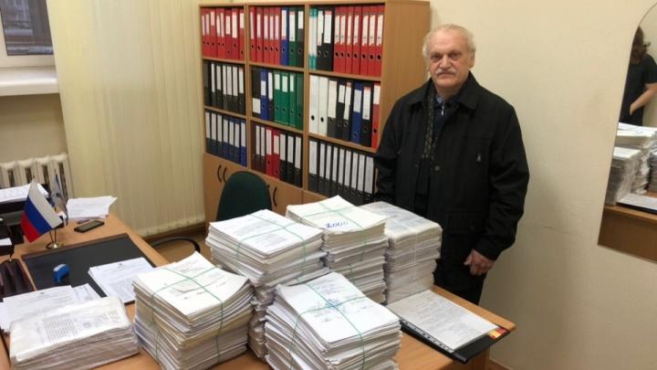 Северодвинцы отправили областным депутатам 12,5 тысячи обращений против московского мусора