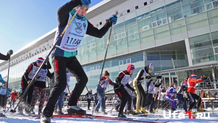 Семь тысяч уфимцев приняли участие в «Лыжне России — 2018»
