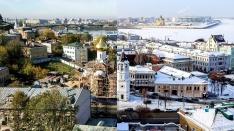 Путешествуем во времени. Найди отличия между старыми и свежими фотографиями Нижнего Новгорода