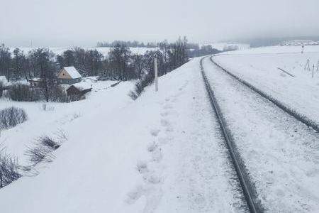 В Стерлитамаке на железнодорожных путях тепловоз переехал мужчину