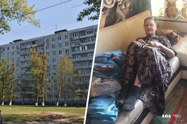 Жители жалуются, что их соседка ведет себя неадекватно, и хотят отправить ее на лечение