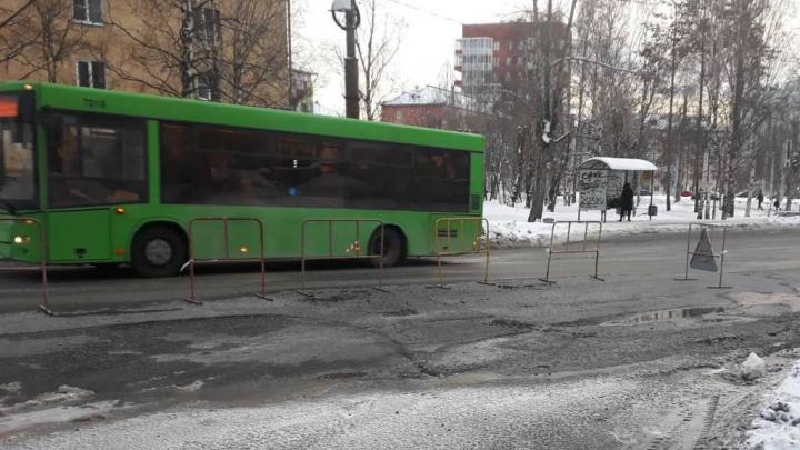 Дефект на теплосетях в центре Архангельска устранён