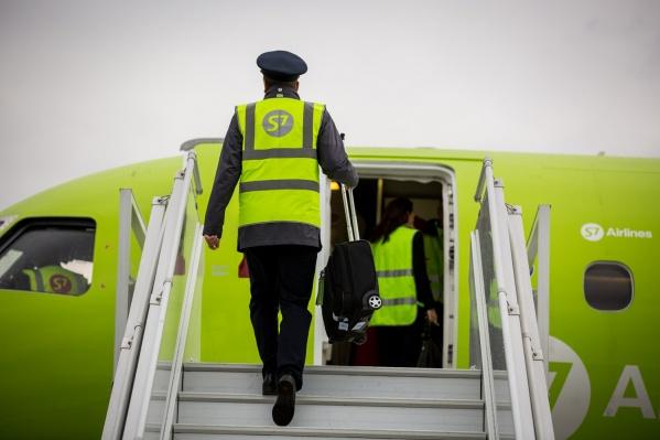 Рейсы из Новосибирска в Барнаул и Кемерово авиакомпания начнёт выполнять со 2 января