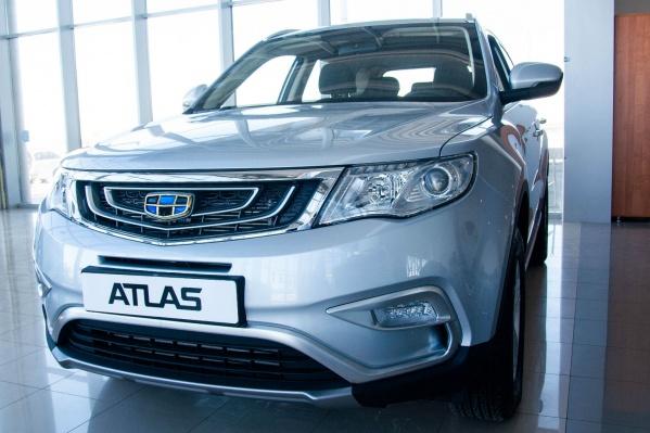 Автомобиль GEELY ATLAS — это комфорт и забота о водителе и пассажирах