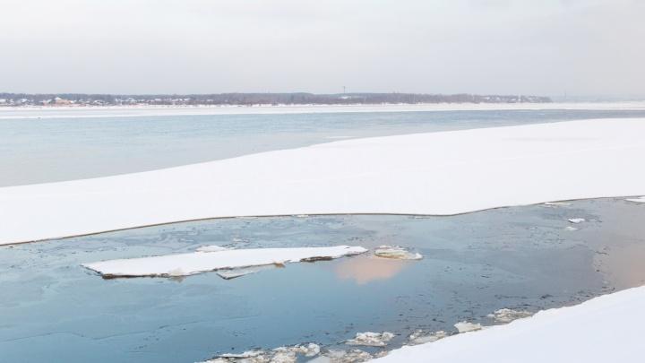 В Пермском районе 73-летний мужчина погиб, провалившись под лёд