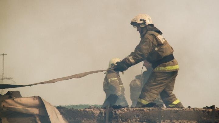 Отец с 15-летним сыном получили ожоги после того, как решили наточить топор