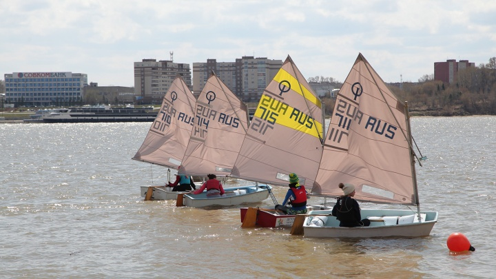 Вновь под парусом: новосибирские яхтсмены открыли сезон