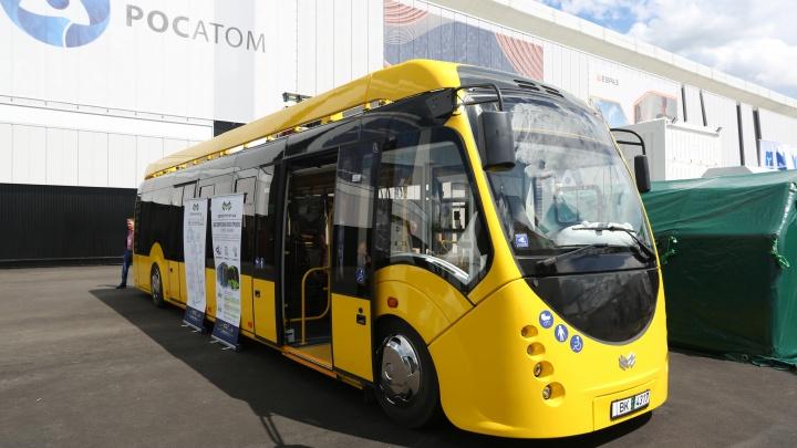 В Екатеринбурге появится новый маршрут, на котором будет ездить белорусский электробус с «Иннопрома»