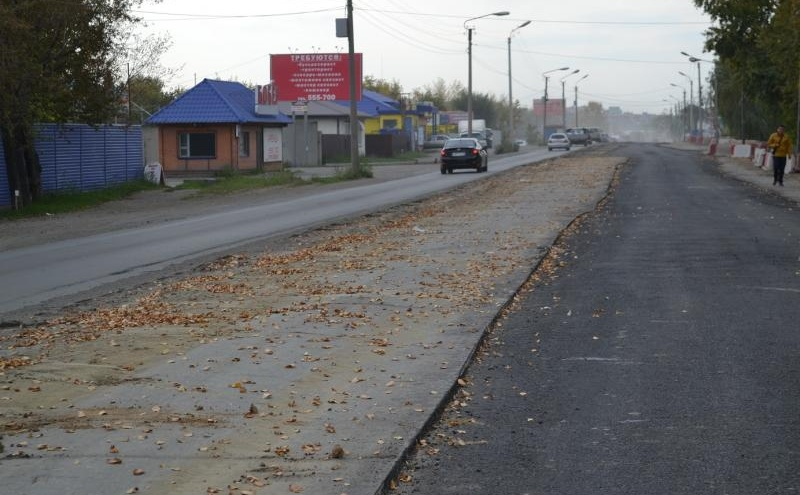 В Кургане автомобилисты недовольны открывшейся дорогой по улице Омской