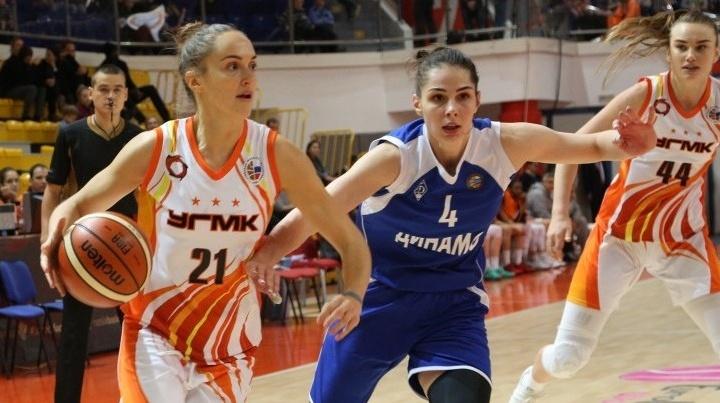 Баскетболистки УГМК в домашнем матче разгромили команду из Новосибирска