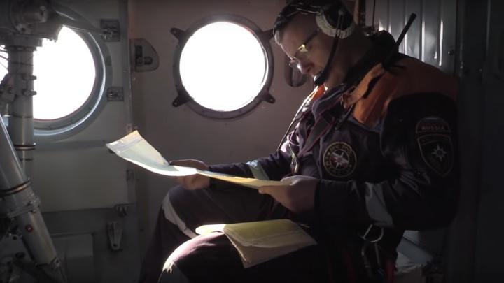Ради поиска потерявшихся во время пурги туристов в Приисковом подняли вертолёт
