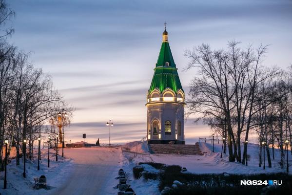 Часовня Параскевы Пятницы стала символом Красноярска