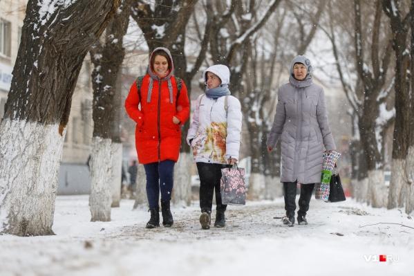 Сегодня в Волгограде комфортная погода для прогулок