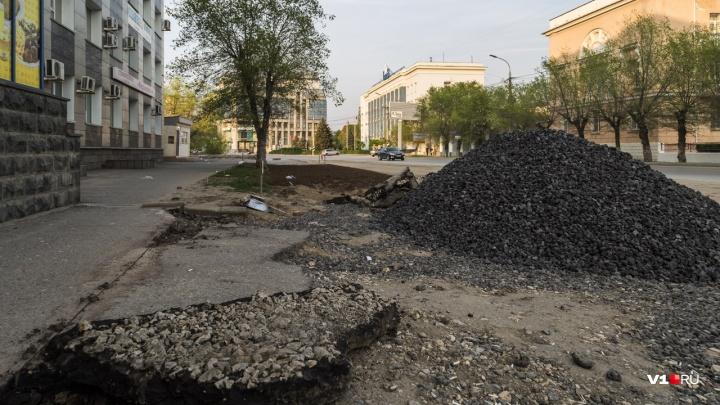 Под личным контролем руководства «Концессий»: отмечаем 248 дней траншеи в центре Волгограда
