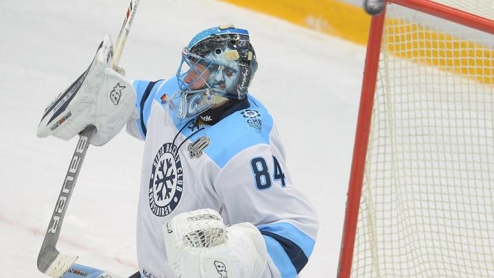 Хоккей: «Сибирь» обыграла «Югру» в овертайме