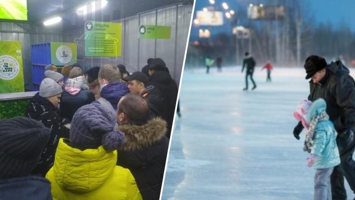 Открытие «Татышев-парка» омрачилось гигантскими очередями