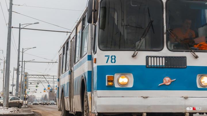 Турникеты в самарских троллейбусах установят на следующей неделе