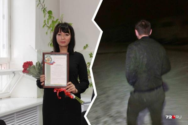 Гульнара Берсенева спугнула пьяного насильника и помогла полиции найти подозреваемого. За это и получила заслуженную награду