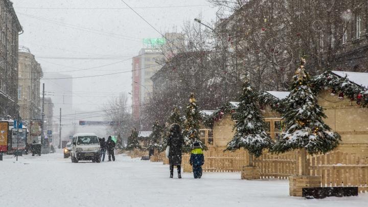 Праздник на тротуарах: улицу Ленина оставят водителям на новогодние каникулы
