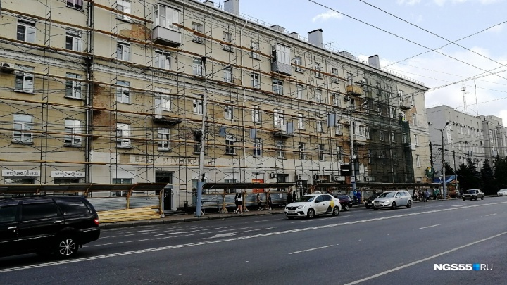 В Омске временно уберут остановку «Площадь Ленина»