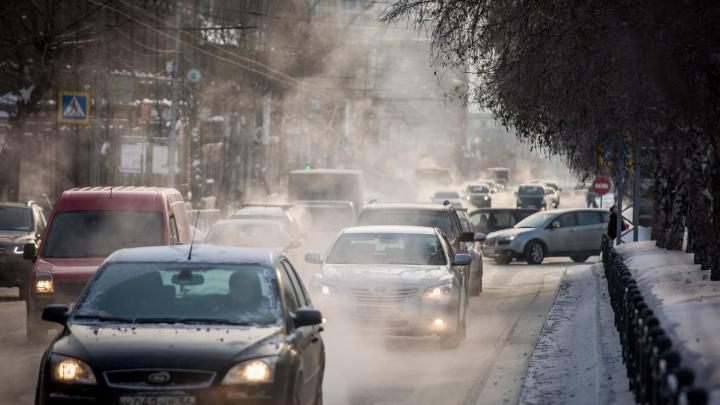 Спасатели предупредили новосибирцев о непогоде и сильном ветре
