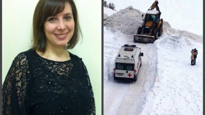 В Екатеринбурге будут судить директора УК на Рощинской, где девочку завалило снегом