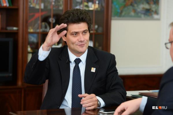 Александр Высокинский стал главой в сентябре