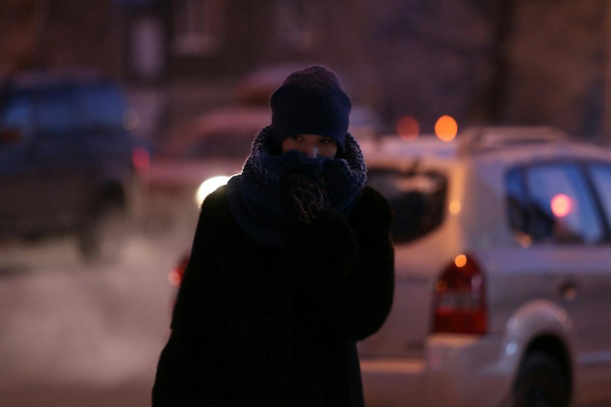 Во вторник утром столбики термометров в Челябинске опустились до -29 градусов
