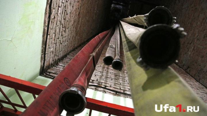 Замкнуло проводку: В Башкирии росгвардейцам удалось предотвратить пожар