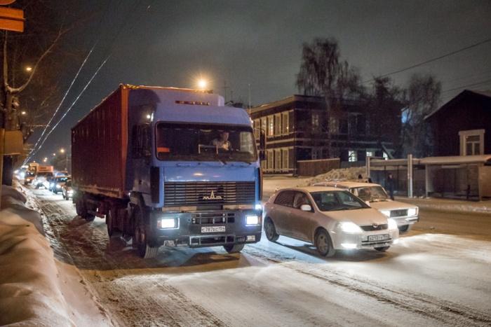 Ограничения на дорогах Новосибирска продлятся до начала апреля