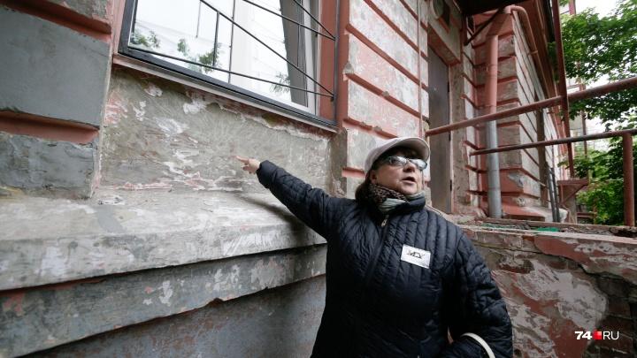 «Это порнография!»: капремонт за 26 миллионов в челябинском городке чекистов начался со скандала