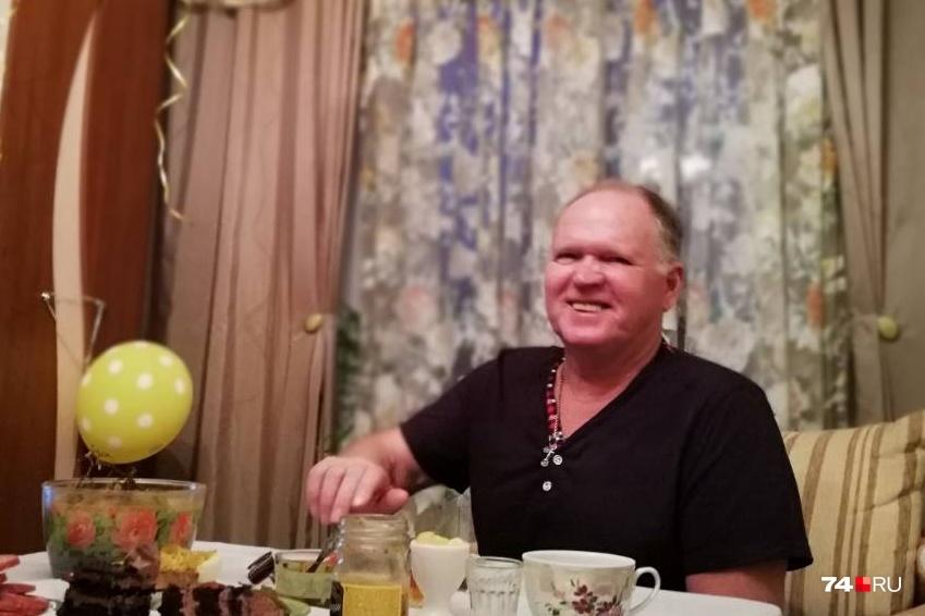 Этот снимок родные Михаила Чудинова сделали за день до того, как ему резко стало плохо