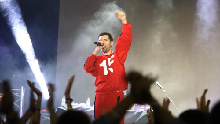 «Устрой дестрой»: в Ростове выступил популярный рэпер Noize MС