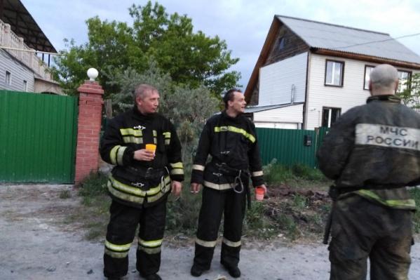 Жители опасаются, что пожары в посёлке — это серия поджогов