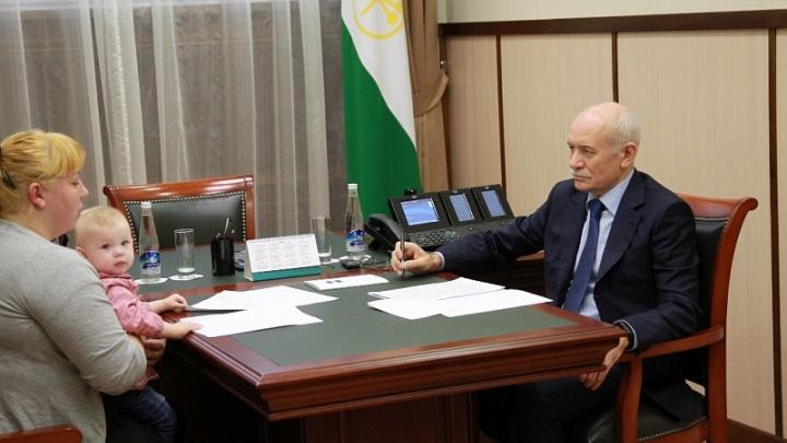 Рустэм Хамитов обещал разобраться с проблемами уфимцев