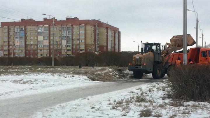 Власти разобрались со свалкой возле собора на левобережьепосле обращения NGS55.RU