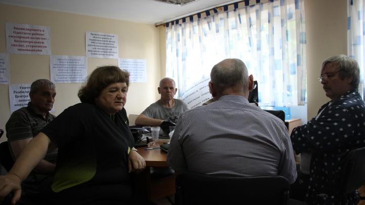 12 разгневанных омичей: как проходит голодовка в санатории «Рассвет»
