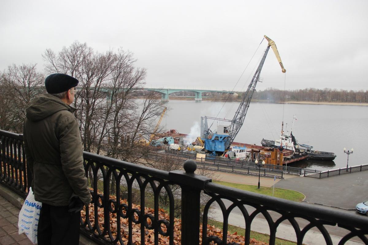 Ярославцы гадают, что появится рядом с Речным вокзалом