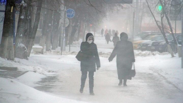 Дорога будет как каток: в Башкирии ожидается гололед и мокрый снег