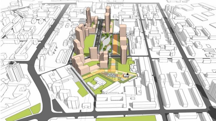 РМК кардинально изменила будущий квартал за СМАКом: стёрла дома и запроектировала парк