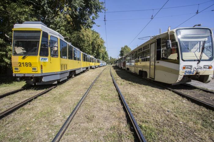 Трамваи  № 11  и  № 14  не будут ходить сутки