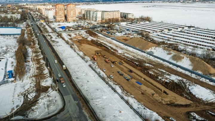 В Самаре при строительстве Фрунзенского моста погиб крановщик